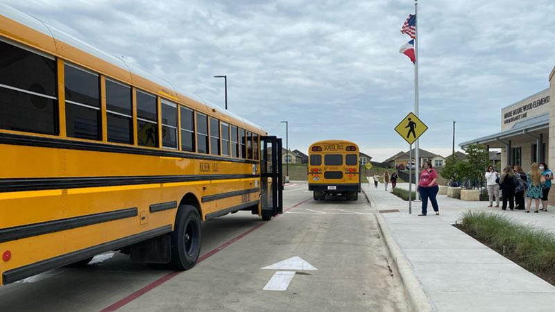 Maude Moore Wood Elementary School at 6410 Morganite Lane in Killeen was evacuated Thursday...