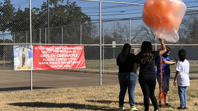 A Central Texas family brought awareness to their son's death and gun violence with a special...