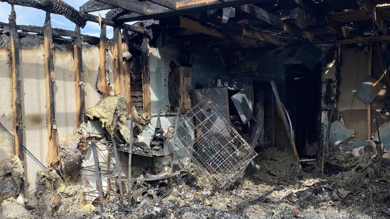 Army Veteran Cassie Graham and her family lost their home in Gatesville to a fire on September...