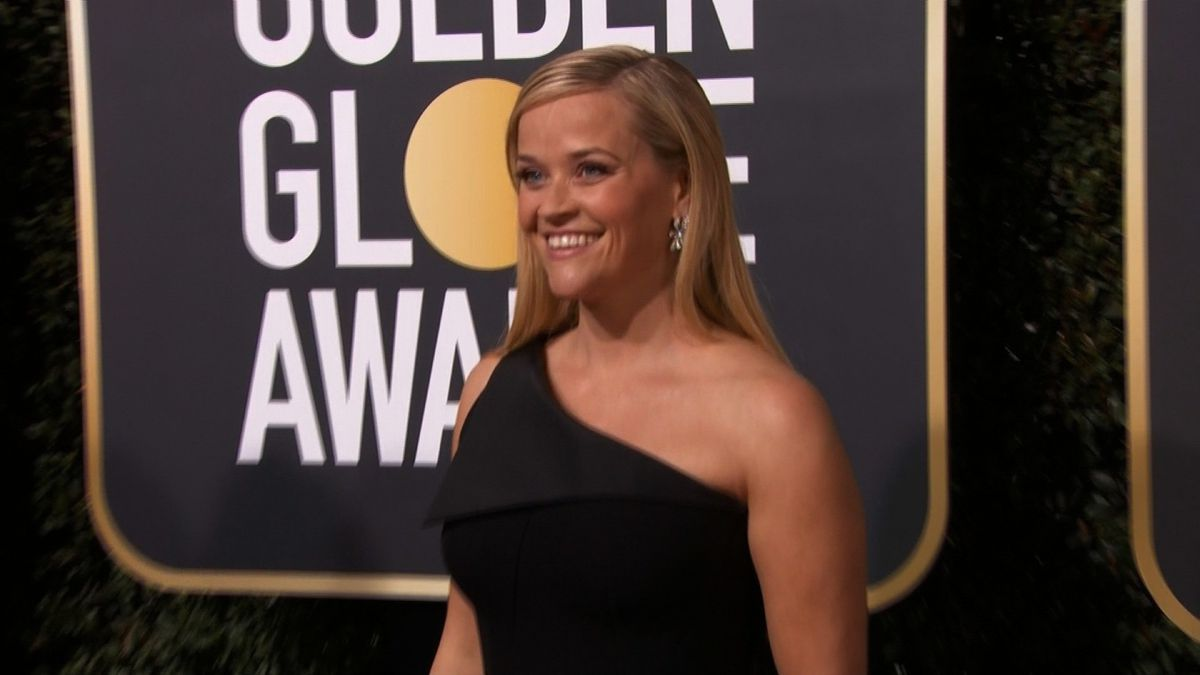 Reese Witherspoon at the 75th annual Golden Globe Awards.