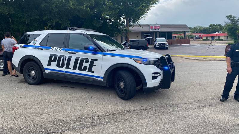 Police on the scene of a crime at 27th street and Waco Drive