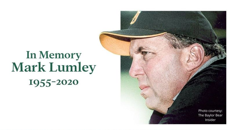 Mark Lumley, Baylor's assistant softball coach, dies after fighting cancer for a fourth time.