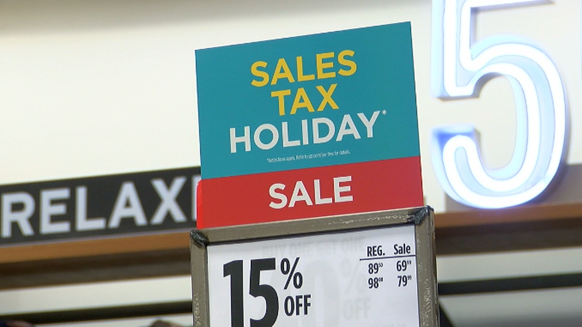 Stores across Texas welcome large crowds during the annual tax-free weekend.