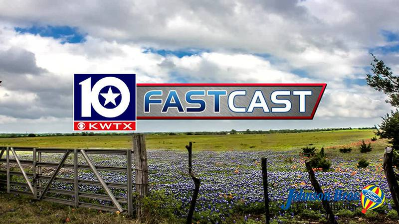 fastcast cloudy clouds overcast bluebonnets wild flowers spring partly cloudy
