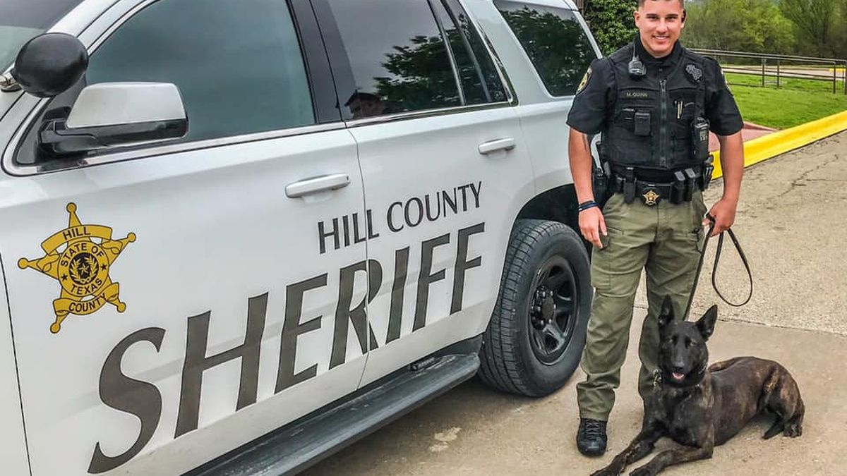 Week one for the new K9 team at the Hill County Sheriff's Office, Loski and her handler...