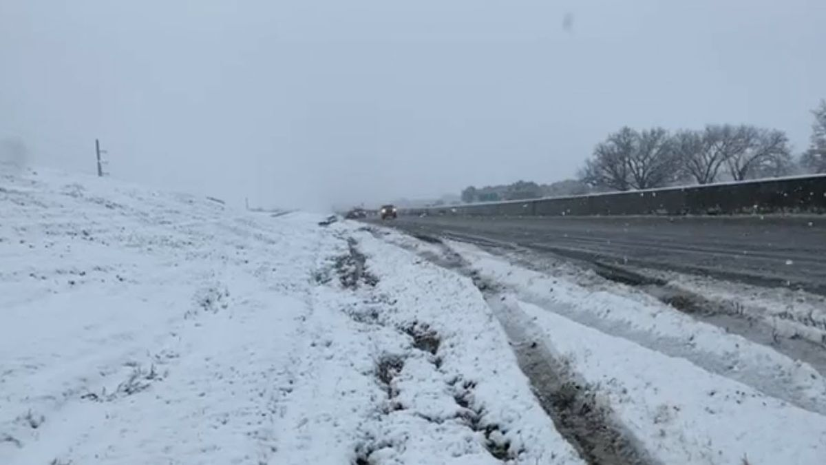 Bell County road conditions are deteriorating.
