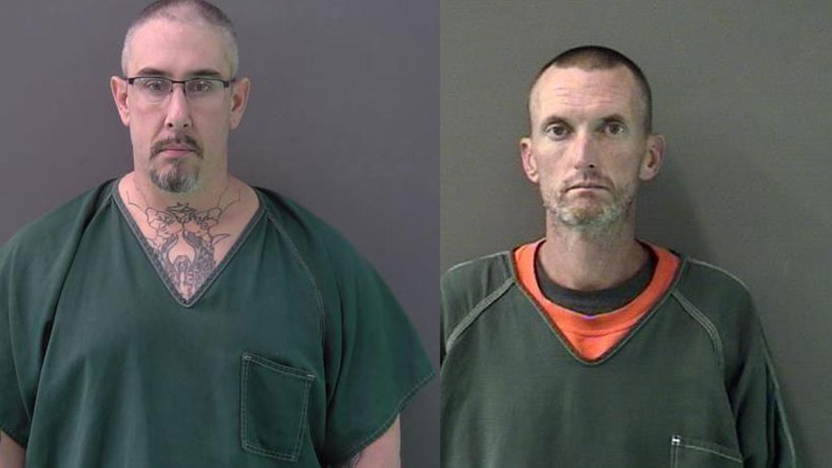Dana Francis Walcott, Jr. (left) was convicted of capital murder while Owen Thomas Free III...