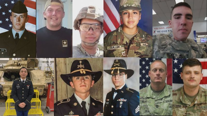 27 Fort Hood soldiers have died in 2020, including Sgt. 1st Class John David Randolph Hilty who...