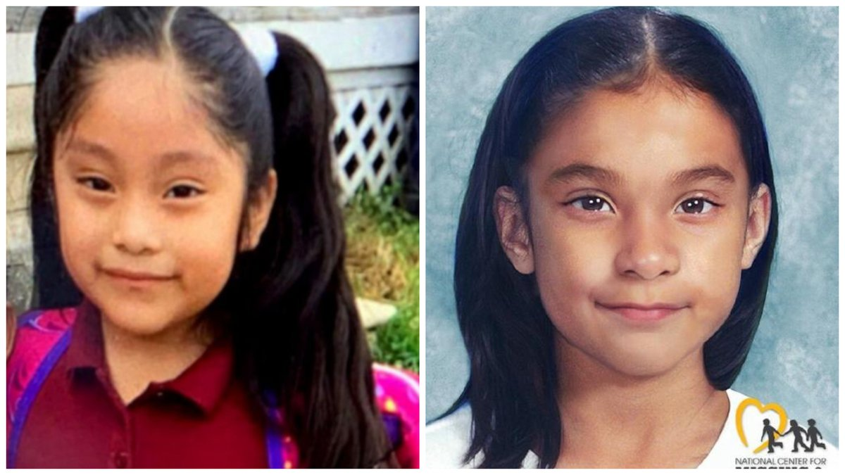 Authorities released an updated rendering of Dulce Maria Alavez, a girl who has been missing...