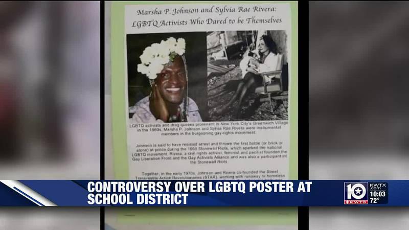 LGBTQ+ poster controversy at KISD