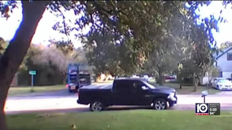 gunman fires at waco recycling truck