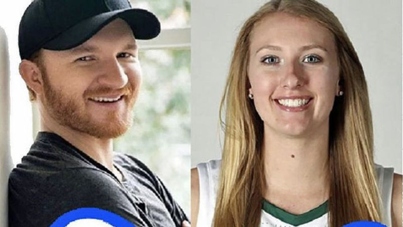 Former Lady Bears standout Lauren Cox (right) and Grammy-nominated country star Eric Paslay...