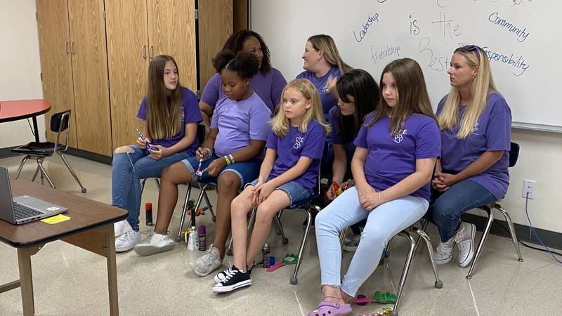 Clemmons Parsons Elementary School in Copperas Cove was honored by the Military Education...