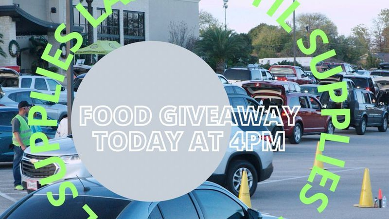 The Destiny World Outreach Center church is giving away a semi load of food away Sunday...