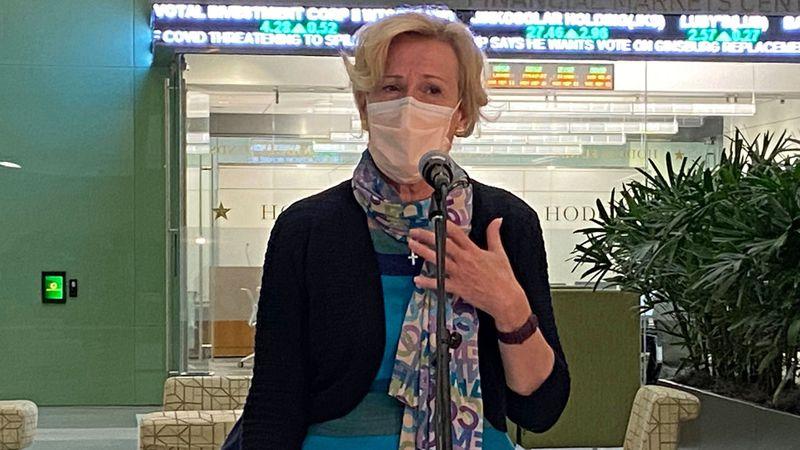 Metro Waco remains a COVID-19 hot zone, White House Coronavirus Response Coordinator Dr....