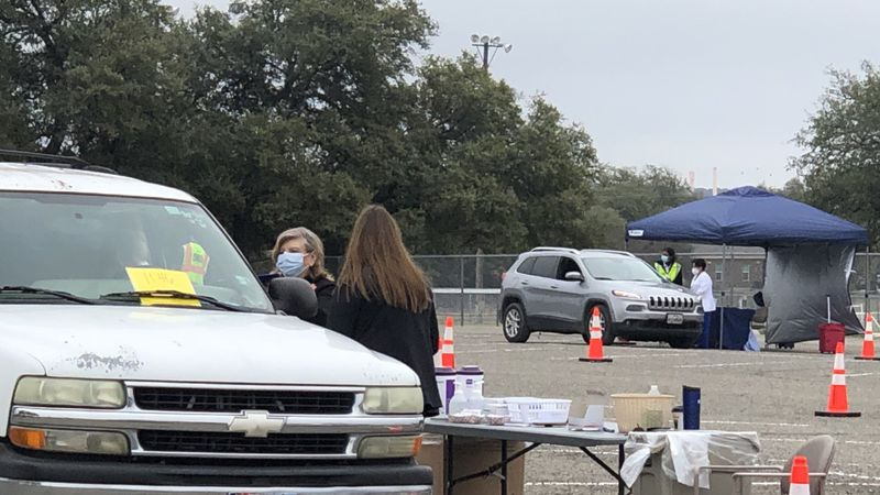 Coryell County opened its first coronavirus vaccine hub after receiving almost a-thousand doses...