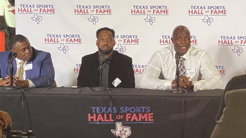 Waco native Derrick Johnson and Dallas Cowboys legend DeMarcus Ware join Texas Sports Hall of...