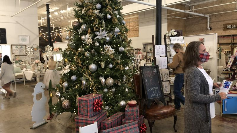 Many local businesses got their share of early holiday customers with Small Business Saturday.