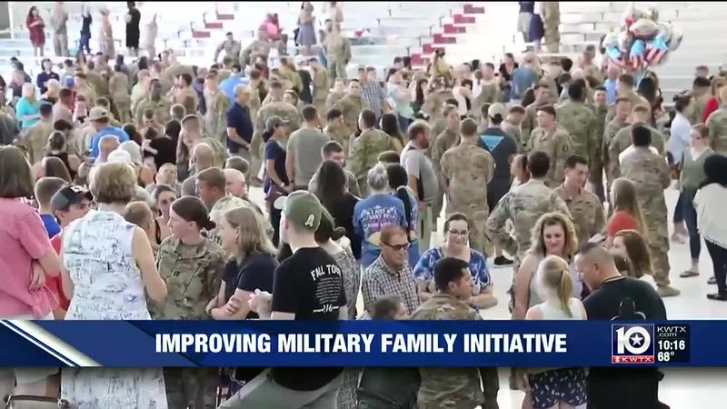 First Lady Jill Biden is revamping a military family initiative to help the families of our...