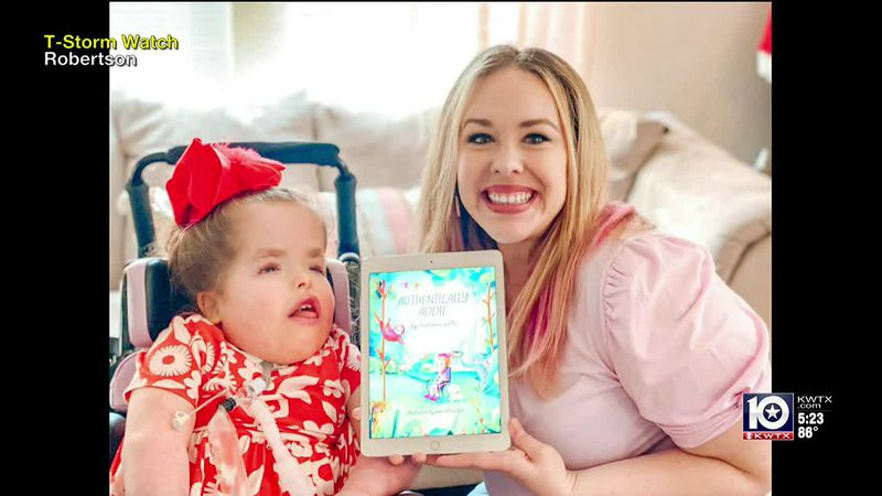 Local author with special child