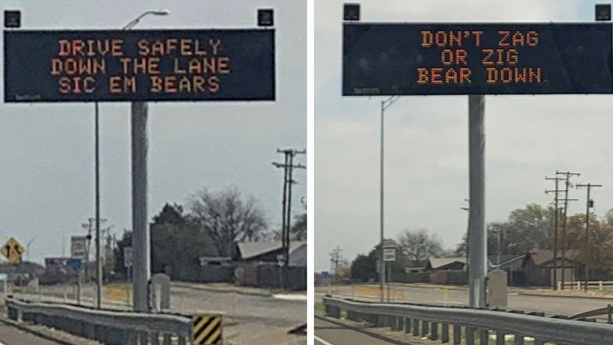 The Texas Department of Transportation is getting behind Baylor ahead of the Bears' NCAA...