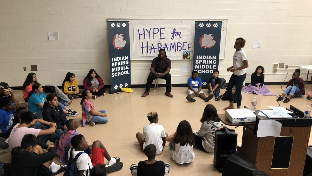 Baylor School of Education's Freedom School at Indian Spring Middle School,