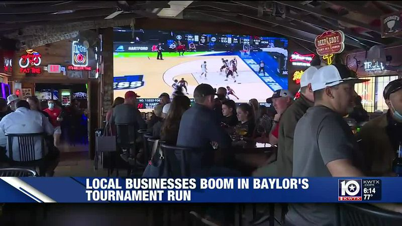 local bars boosted by Baylor's Final Four run