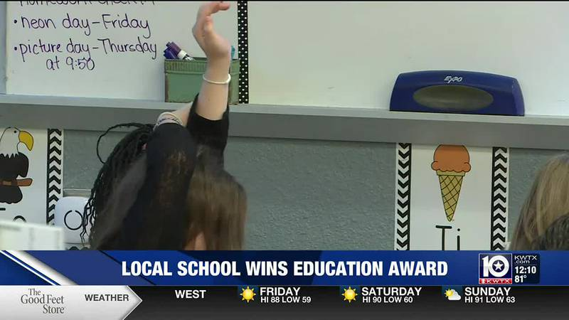 Valley Mills Elementary named one of 26 National Blue Ribbon Schools across the state.