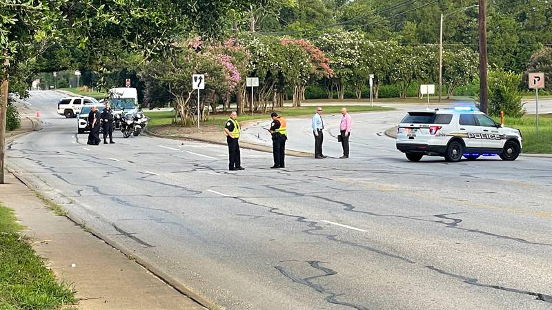 An incident involving a vehicle and a pedestrian shuts down part of East William J. Bryan Parkway