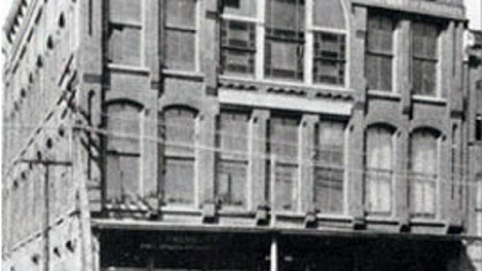 Baylor University College of Medicine, 1906. (Baylor College Of Medicine photo)