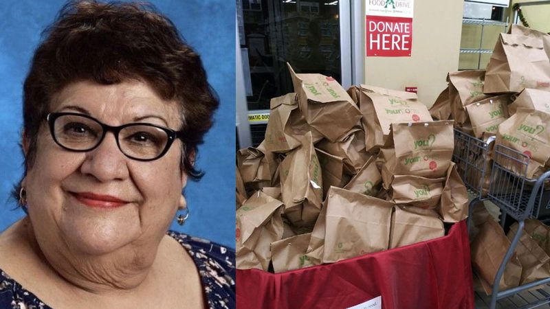 At Shepherd's Heart Food Pantry in Robinson the annual Food for Families drive was dedicated to...