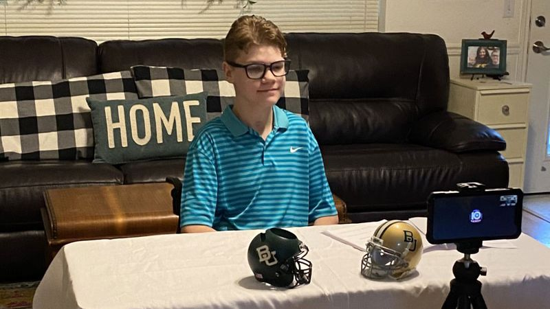 Dax Hicks, a freshman at Robinson High School and aspiring sports broadcaster, will be joining...