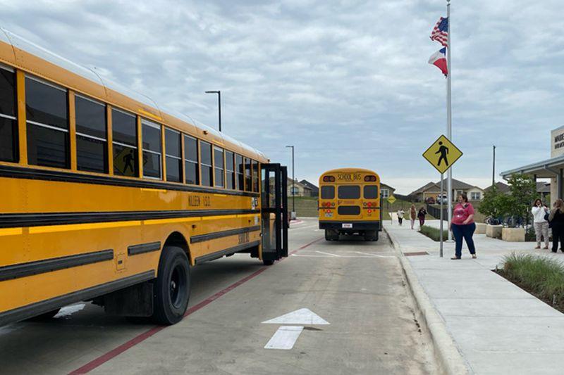 Maude Moore Wood Elementary School at 6410 Morganite Lane in Killeen was evacuated Thursday...