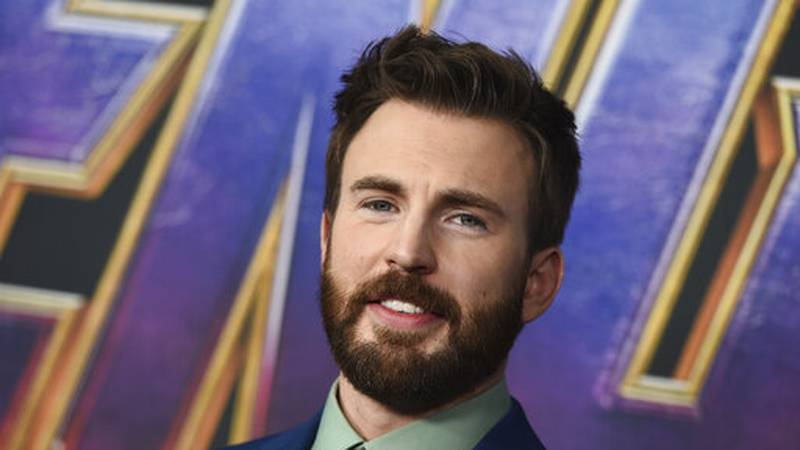 """FILE - In this April 22, 2019 file photo, Chris Evans arrives at the premiere of """"Avengers:..."""