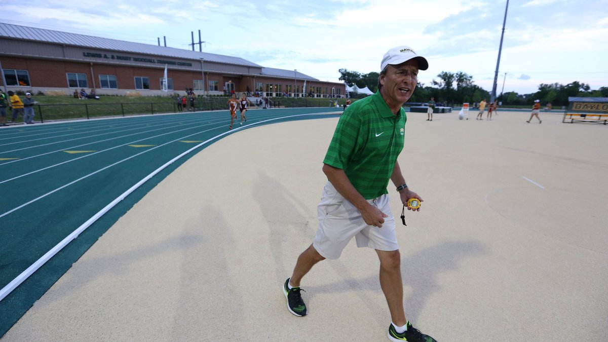 Baylor's head track and field coach.