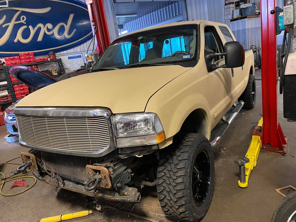 Ethan knew his truck was getting a new paint job, but never realized it was undergoing an...