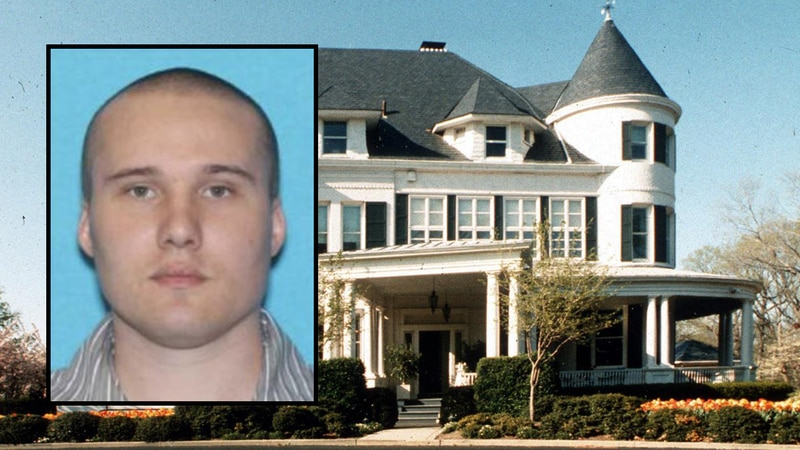 Paul Murray was arrested on March 17 outside the U.S. Naval Observatory.