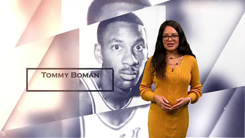 Tommy Boman was the first African American basketball scholarship recruit at Baylor University.