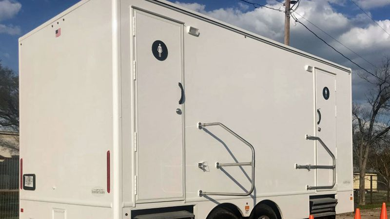 The Village of Salado's government has invested $40,000 in a toilet trailer that they say will...