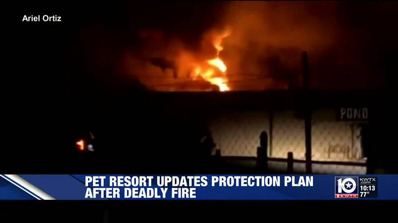 After Ponderosa Pet Resort in Georgetown caught fire Saturday night, killing 75 dogs, the owner...