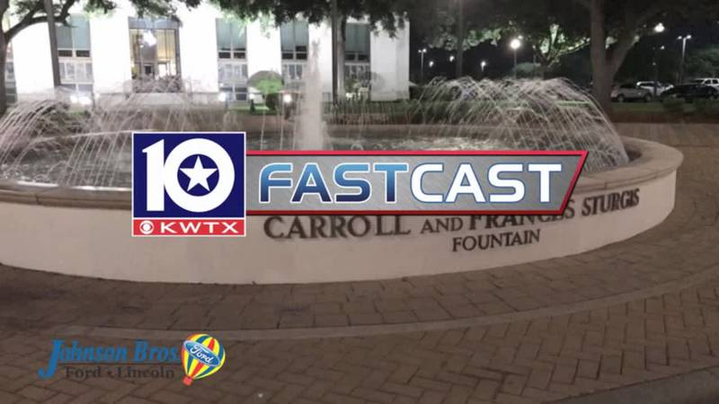 fastcast night fountain