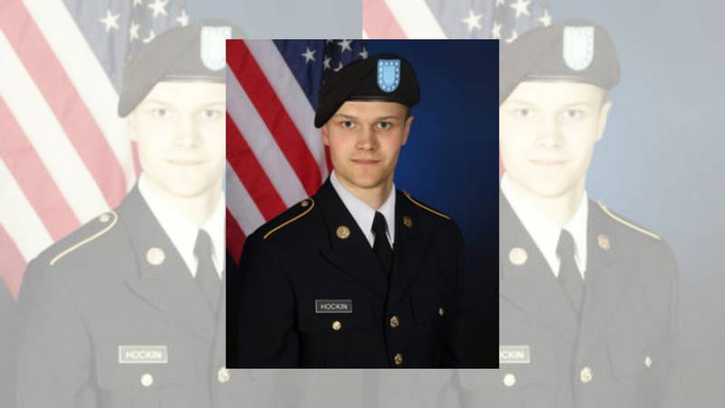 Spc. Maxwell Hockin, 26, was assigned to 1st Armored Brigade Combat Team, 1st Cavalry Division.