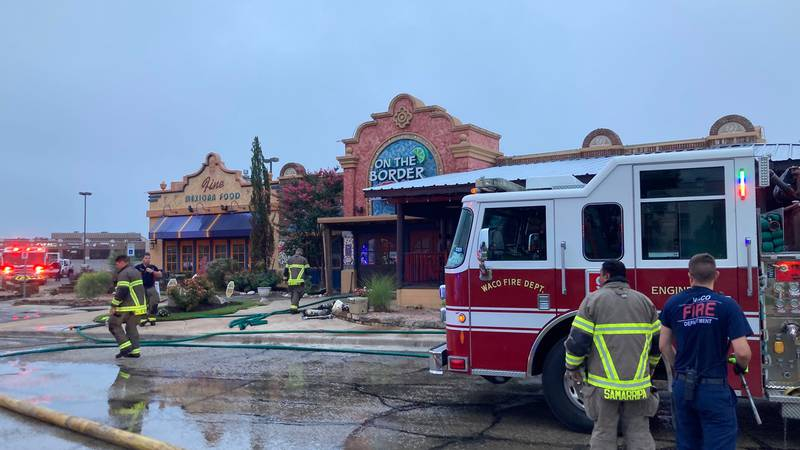 The Waco Fire Department responded to a fire at On The Border at W Waco Dr.