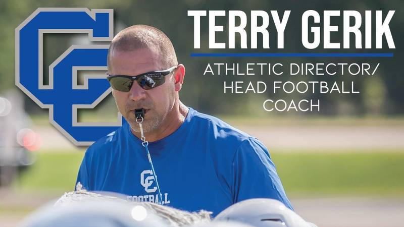 Connally's Terry Gerik will take over as the program's head football coach and athletic director.