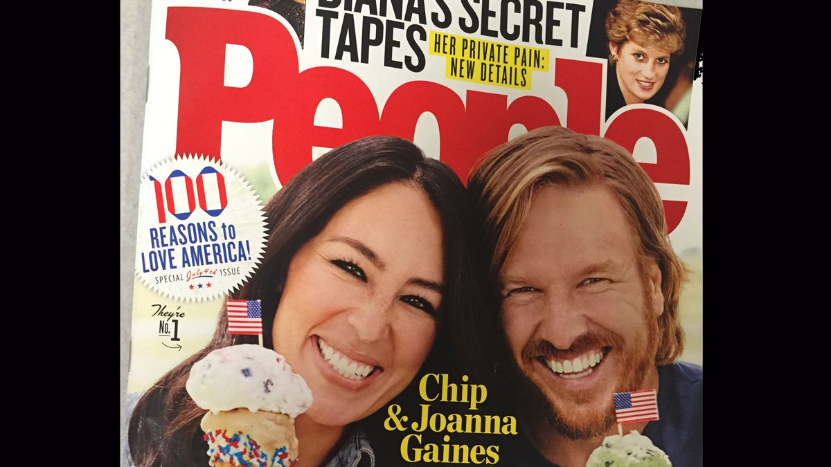 Chip and Joanna Gaines have made the couple of People magazine for a second time. The special...