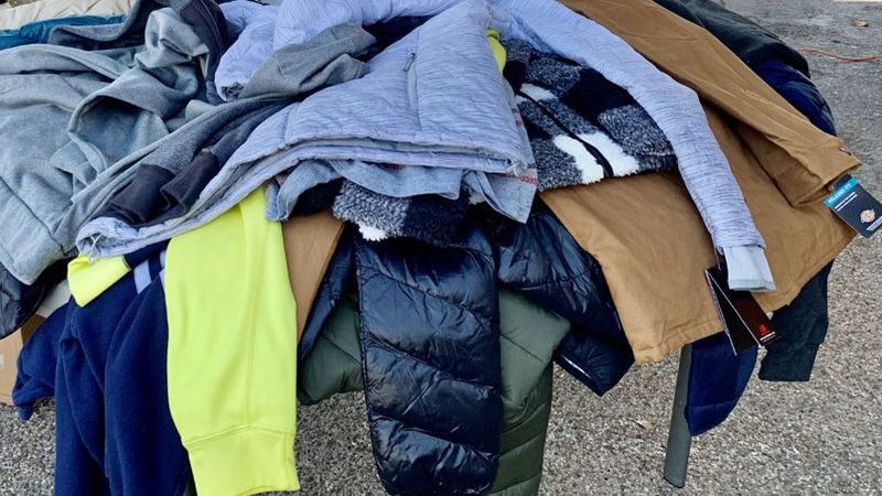 The coats were mostly distributed at Mission Waco's annual Thanksgiving Day meal which was held...