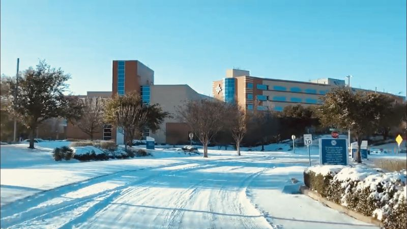Baylor Scott & White Medical Center - Hillcrest made arrangements for some team members to stay...