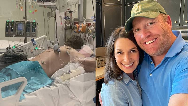 Austin Burk, a former golf coach at Baylor University in Waco, is in the fight of his life...