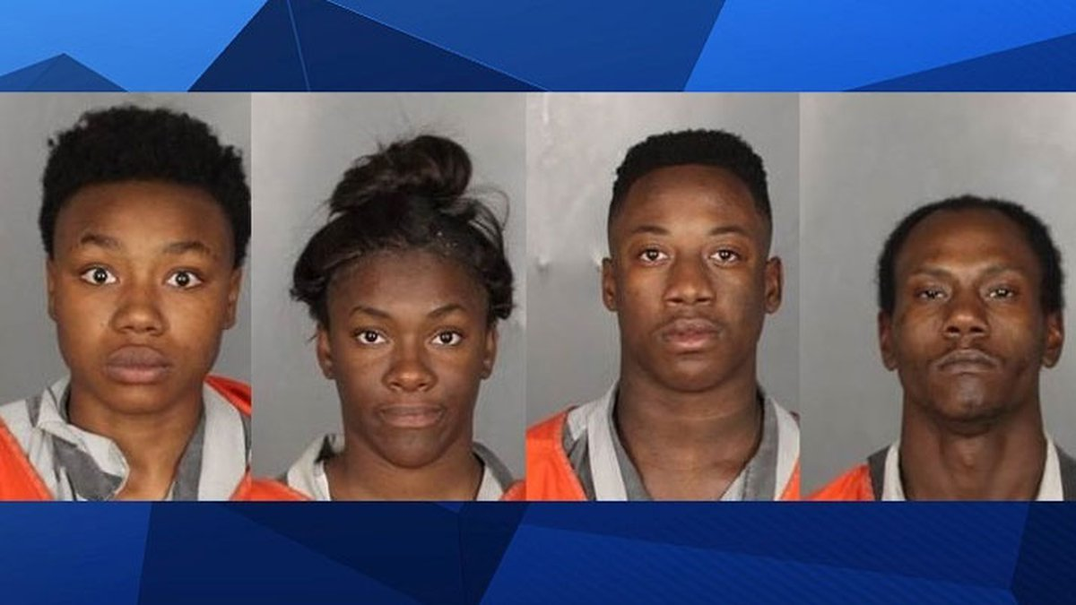 (From left to right) She'llra Norwood, Alexis Johnson, Don Barrier, and Leonard...