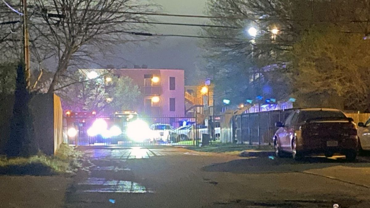 Officers who responded to a report of a shooting early Saturday morning found the three victims...